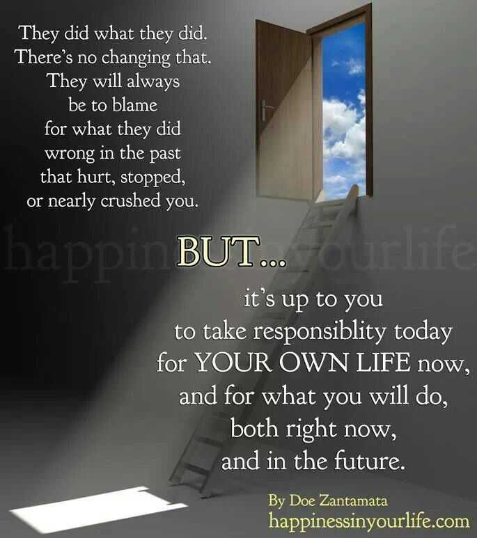 Quotes On Taking Responsibility for Your Life