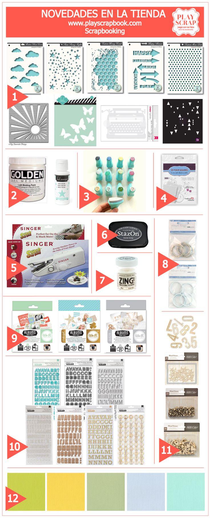 12 COSAS BONITAS QUE ENSEÑARTE – Novedades en nuestra tienda online www.playscrapbook.com #tiendaonlinescrapbooking #scrapbooking #playscrap
