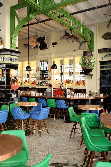 The John Dory Oyster Bar - New York, NY (with Roman and Williams).