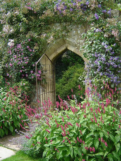 Gateway in the Sudeley Castle Gardens ~ Winchcombe, Gloucestershire, England