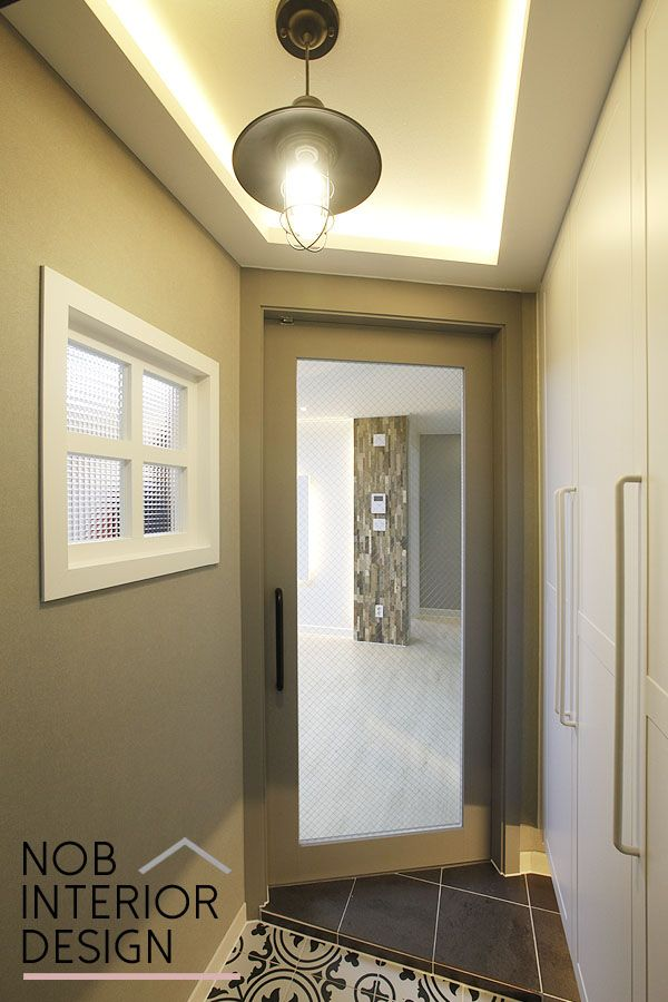 [청학동인테리어]패턴 타일로 꾸민 색다른 현관 디자인 + 인천 연수구 청학동 성호아파트 인테리어 (청학삼용) -노브인테리어