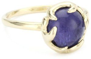 House of Harlow 1960 14k Gold-Plated Cabochon Antler Button Ring, Size 8 House of Harlow 1960. $50.01