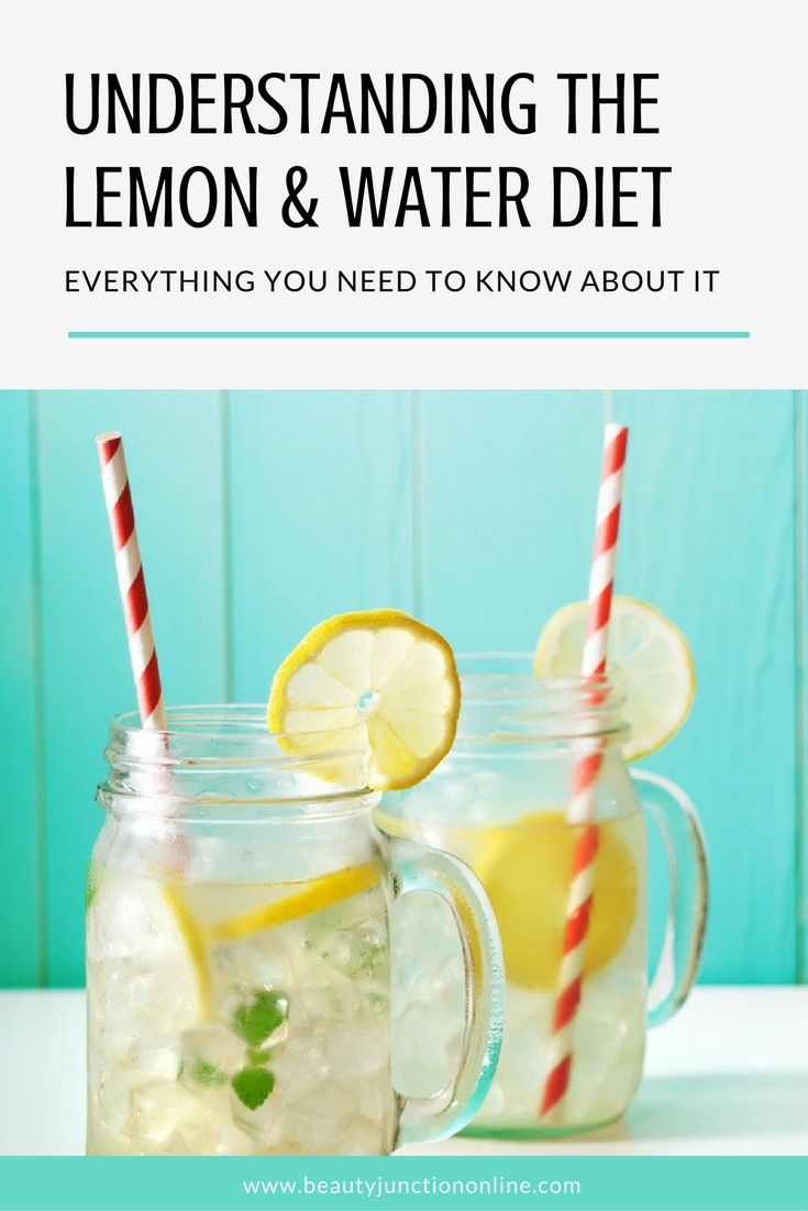 Discover all you need to know about the lemon and water diet!