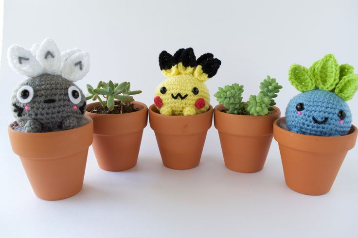 Forgetting to water your plants? Make your own plants that sprout into your favorite Characters, in an Oddish form!