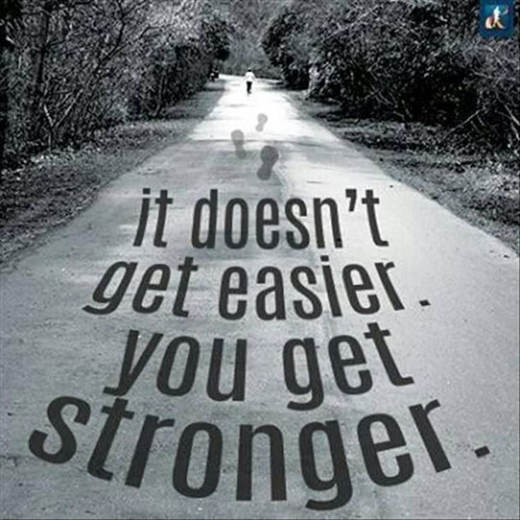 You Get Stronger. #motivation #quotes #fitness