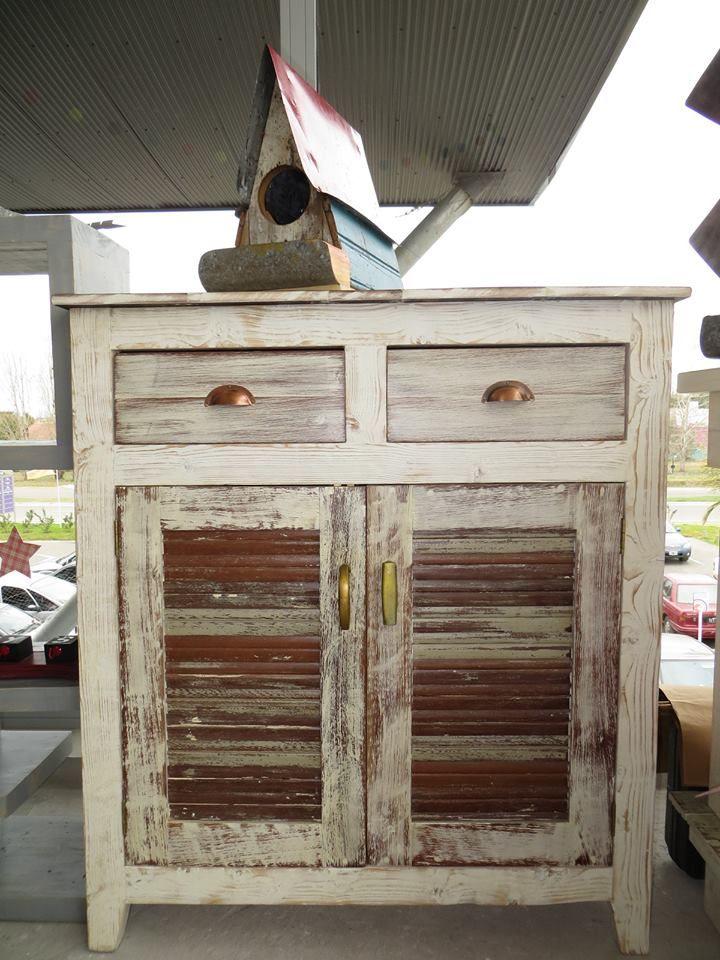 mueble vintage con maderas recicladas de donatto te lo
