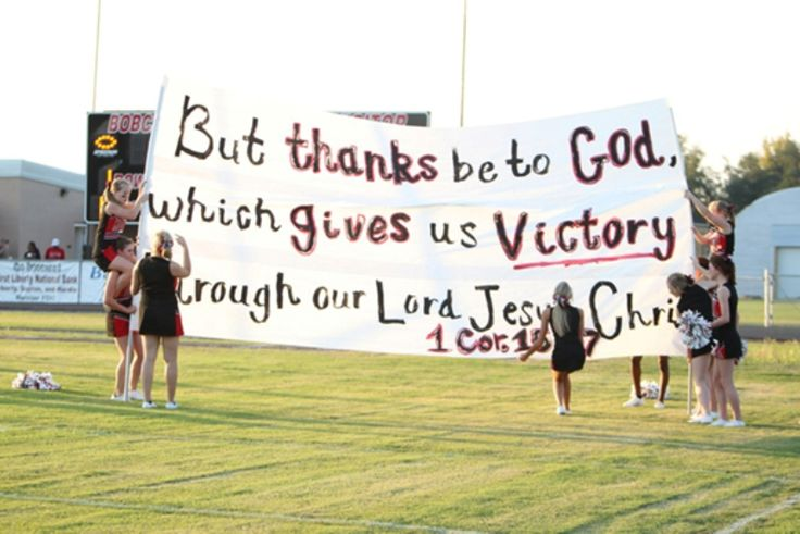 Texas Cheerleaders Take Bible Banner Case to State Supreme Court  http://www.christianpost.com/news/texas-cheerleaders-take-bible-banner-case-to-state-supreme-court-124481/