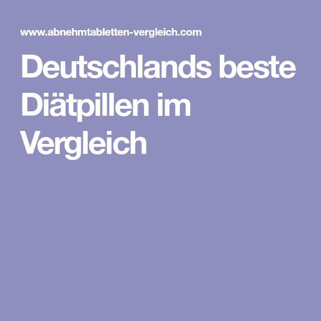 Deutschlands beste Diätpillen im Vergleich