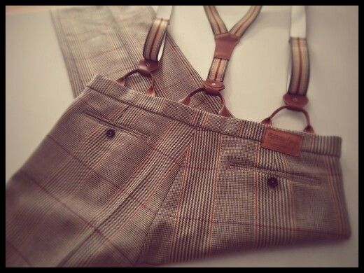 Glencheck trousers 30's Style... Made by me
