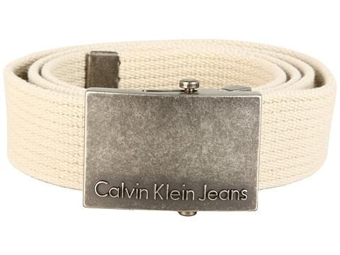 Calvin Klein 40Mm Cotton Webbing Striped Belt - Curele - Accesorii - Barbati - Magazin Online Accesorii