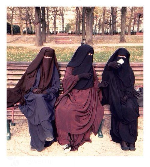 Three Muslimah Sisters