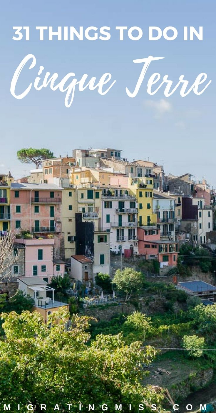 Things to do in Cinque Terre, Italy
