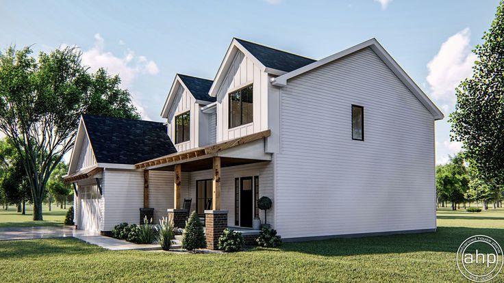 Sherman Oaks 2 Story Modern Farmhouse House Plan House