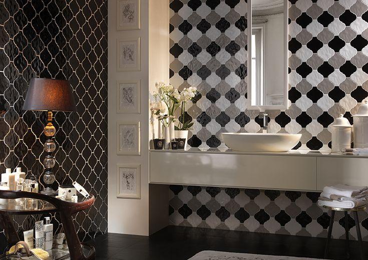 #Tonalite #Arabesque #Silk #Tiles #Piastrelle #Azulejos #Carreaux  www.tonalite.it