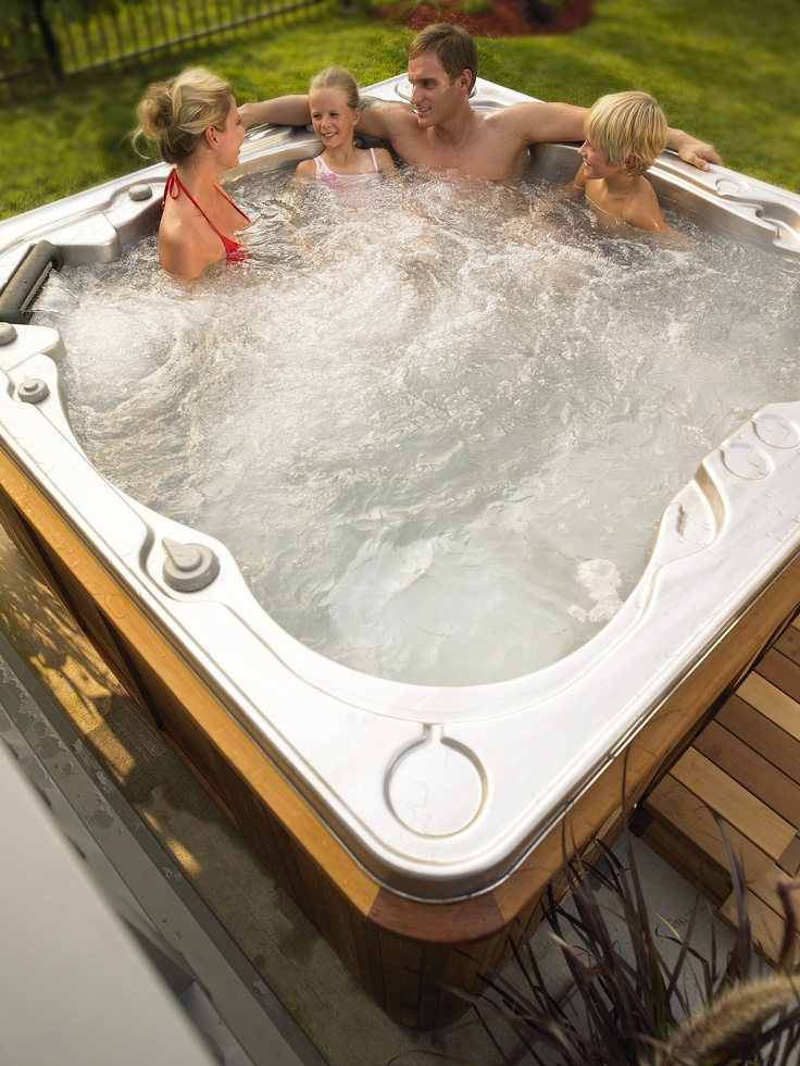 A spa brings the entire family together for quality time and relaxation!