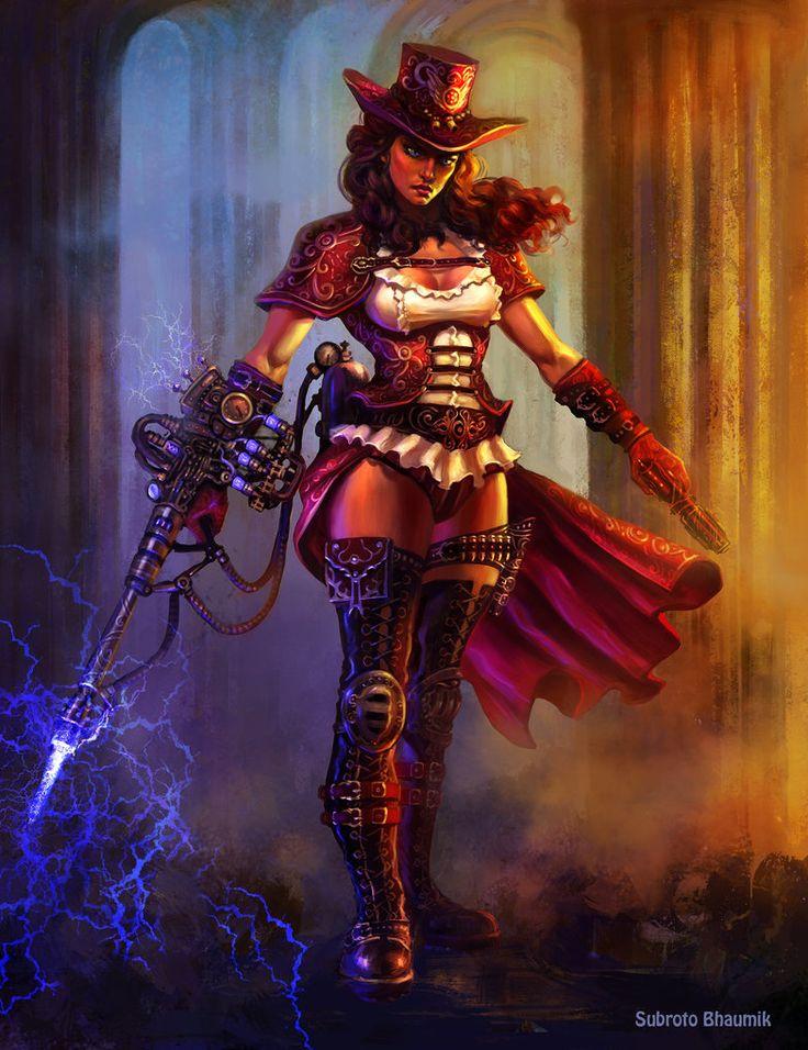 Steampunk Warrior_Outcast Odyssey by orangus on DeviantArt