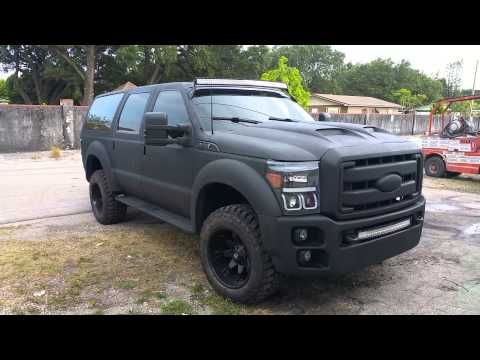 2015 ford excursion convercion - YouTube