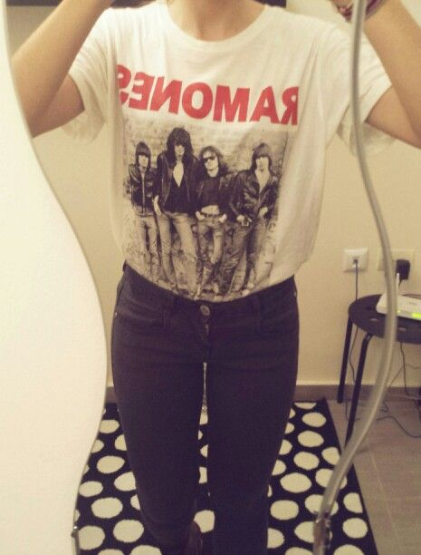 #ramones #casual #outfit #fashion