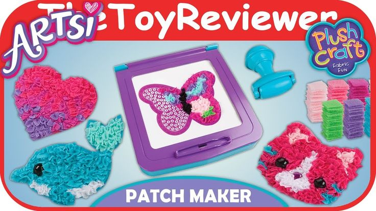 Artsi Fabric by Number Patch Maker Craft Kit Plush Orb Factory Unboxing Toy Review by TheToyReviewer - YouTube