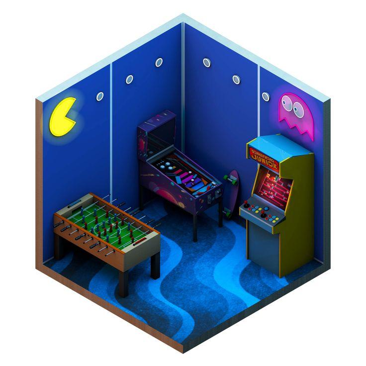 Model arcade machines in Cinema 4D - Digital Arts