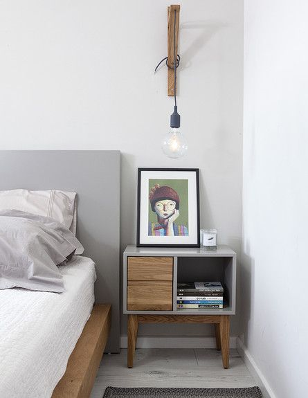 Contemporary nightstand made of wood and with the perfect space to keep close to you all the important things to have a good night of sleep | Discover more nightstands ideas: www.bocadolobo.com