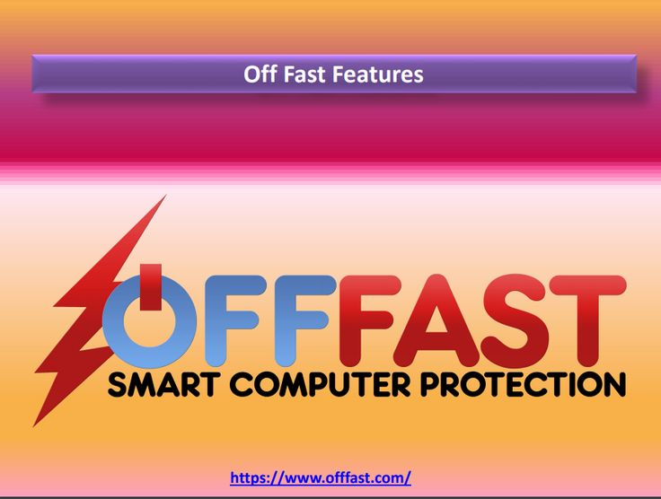Off Fast is easy to install and can be up and running in minutes. It also comes with a Quick Start guide and detailed instructions.   #offfast #computer #protection #software #storms #electrical #problems #surges #outages #hiccups #spike  https://www.offfast.com