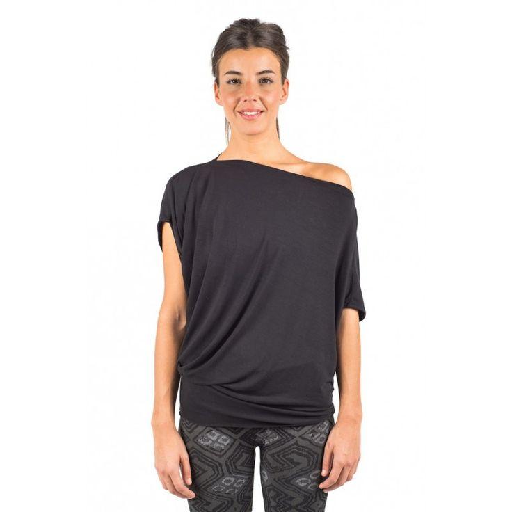 Tee Shirt de Yoga CHAKRA Fluide et Asymétrique