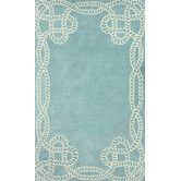Found it at Wayfair - Filigree Marco Polo Blue Area Rug