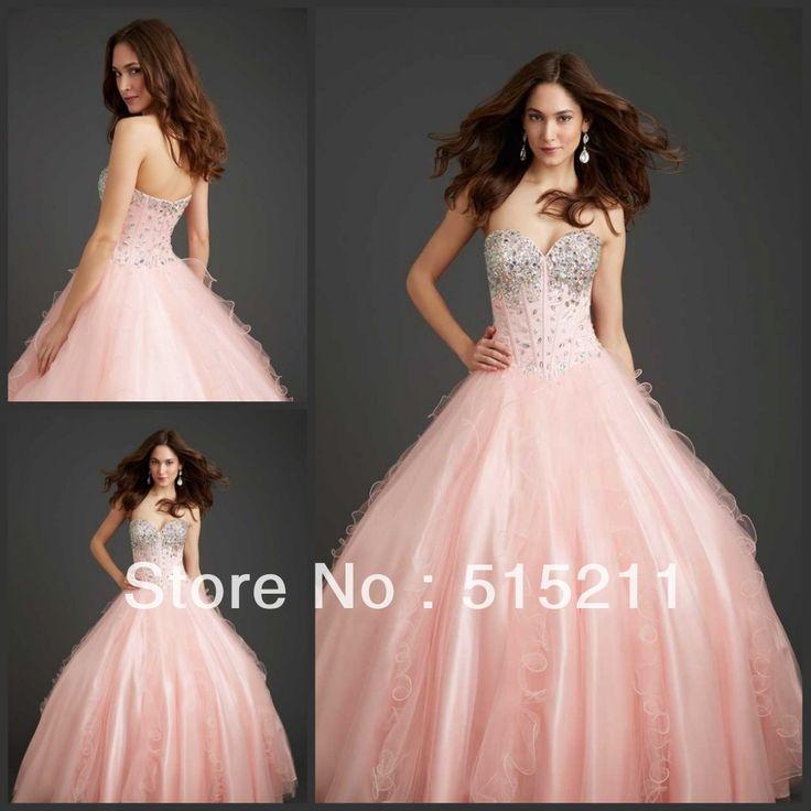 Mejores 13 imágenes de vestidos en Pinterest | Quinceañera, Vestido ...