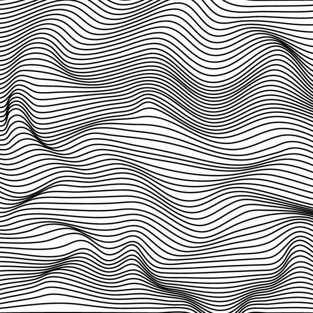 Fundo abstrato com linhas Vector livre