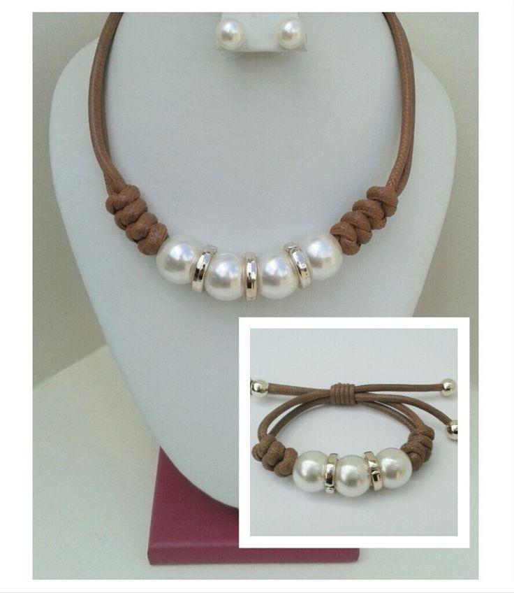 Collar Bisutería De Moda - Bs. 320,00 en MercadoLibre