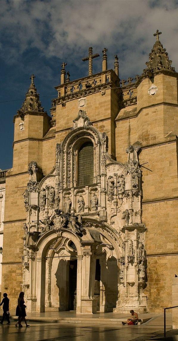 #church, Igreja de Santa Cruz, Coimbra #Portugal