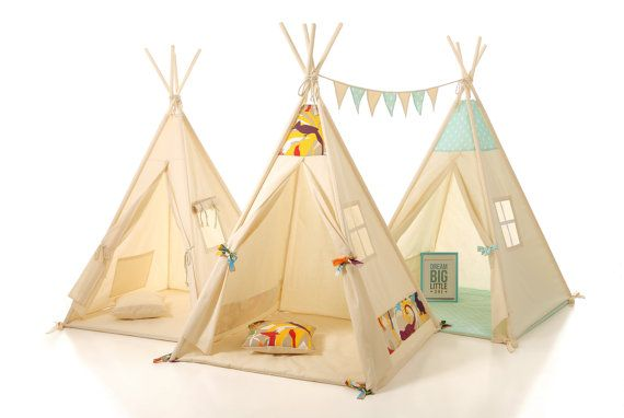 CUSTOM ORDER Kids teepee play tent wigwam, children's teepee, tipi ,kids teepee, play teepee, high quality wigwam , tipi enfant