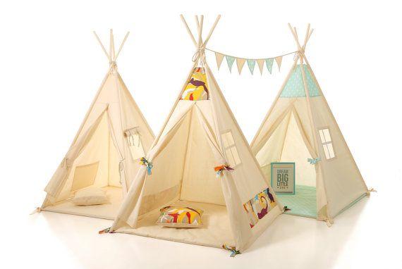CUSTOM ORDER Kids teepee play tent wigwam, children's teepee, tipi ,kids teepee, play teepee, high quality wigwam , tipi enfant