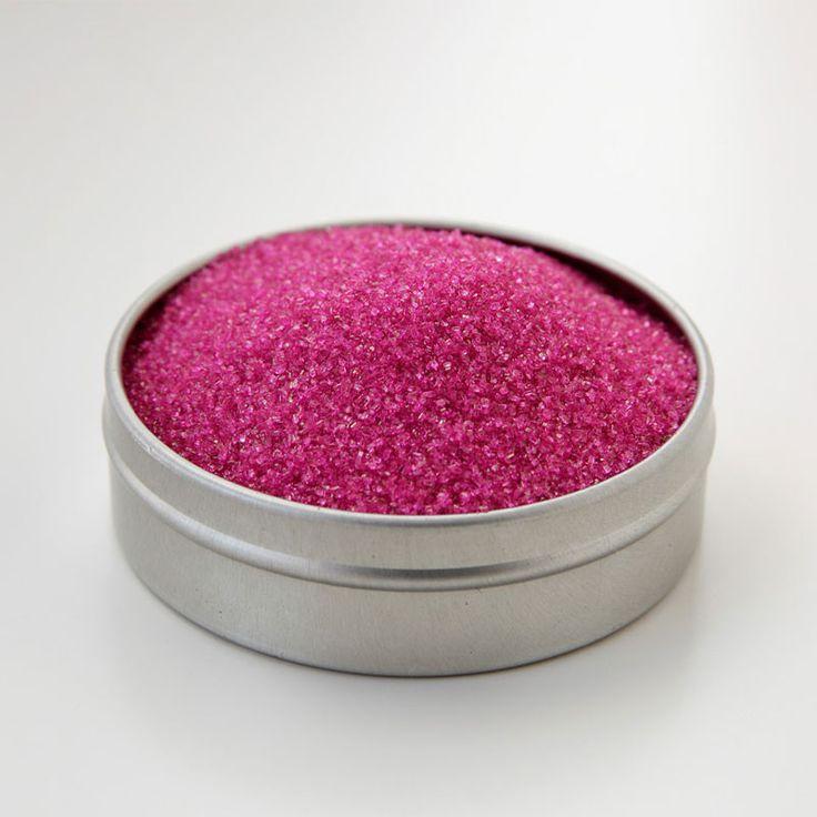 Raspberry Pink cocktail rim sugar