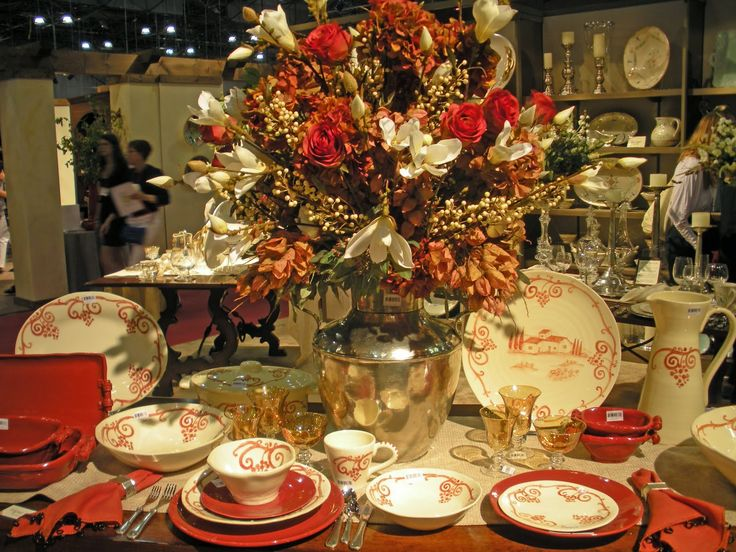 Beadboard UpCountry Autumn Table Settings in NYC & 37 best Table settings images on Pinterest | Table decorations Tray ...