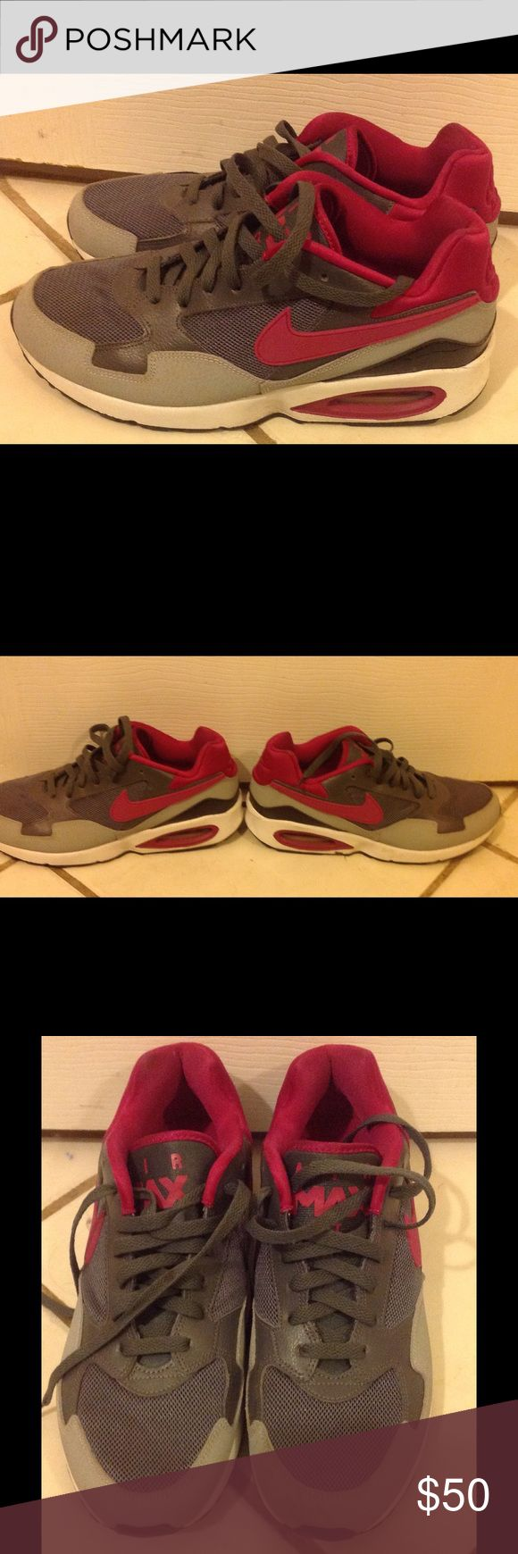 Nike Air Max Women's Nike Air max size 9.5. Only worn a couple of times. Still in EUC. No box Nike Shoes Athletic Shoes
