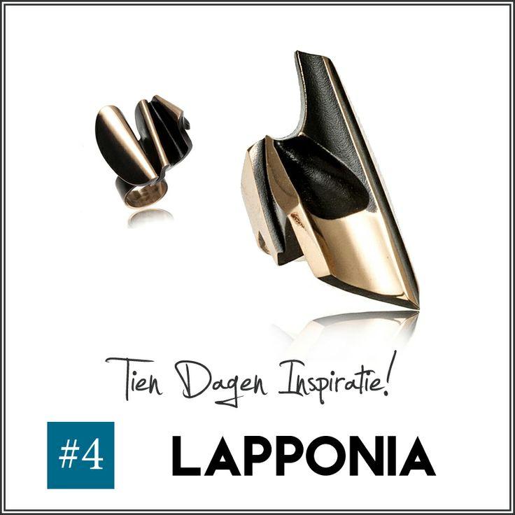 #4 - Het is voor kerstsieraden traditie om een edelmetaal te kiezen als goud of zilver. Wees uniek en ga deze feestdagen voor de artistieke, bronzen sieraden van Lapponia Jewelry.