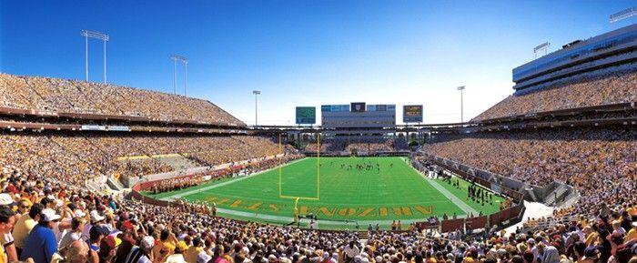 Sun Devil Stadium http://www.ostadium.com/stadium/117/sun-devil-stadium