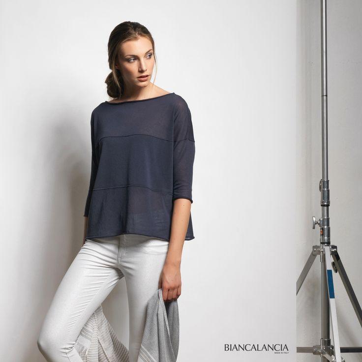 Blue Sweater. Spring Summer 2016/Biancalancia