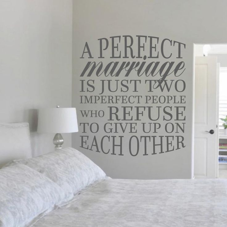 "A Perfect Marriage Wall Decal (42"" x 48"") - 17696014 - Overstock - The Best Prices on Original Art - Mobile"