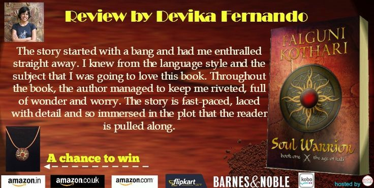 http://www.devikafernando.com/blog/featured-book-club-blog-tour-soul-warrior-by-falguni-kothari-review