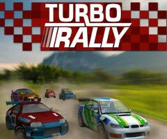 Speed Lizzie through three laps on a racetrack before time runs out. http://funnkidsgames.com/turbo-racer/