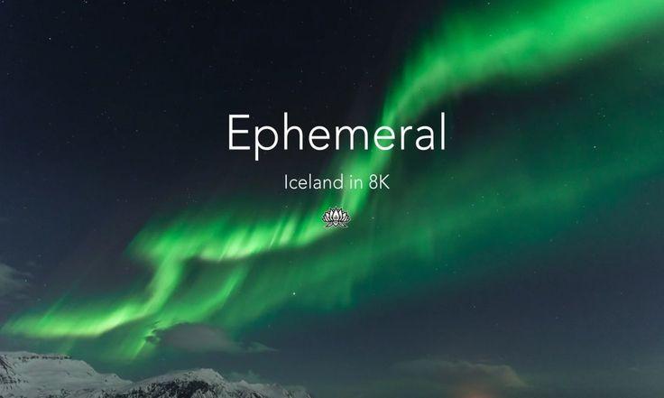 VIDEO Quando il super dettaglio dell'Ultra HD sposa il paesaggio islandese   #timelapse