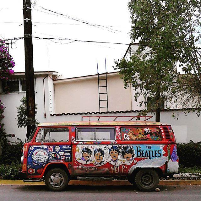 San Felipe Road// #Oaxaca #thebeatles #obladioblada #wearelivinginyellowsubmarine #Combi #volkswagen #beatlemania