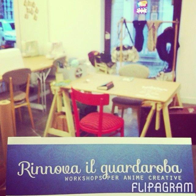 Nell'attesa di fare un #rinnovailguardaroba on tour, ecco un riassunto di questo splendido mese pieno di creativitá.❤