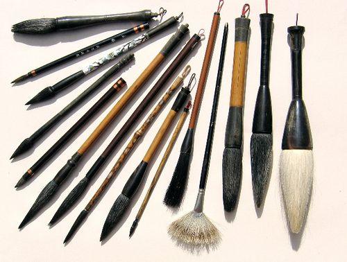 Pincel japonés o Fude 筆   Superinteresante artículo sobre pinceles japoneses