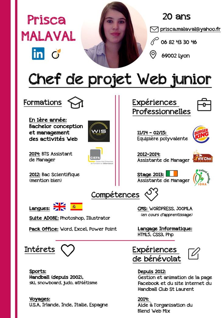 11 best Resources images on Pinterest Freelance graphic design - resume for chef