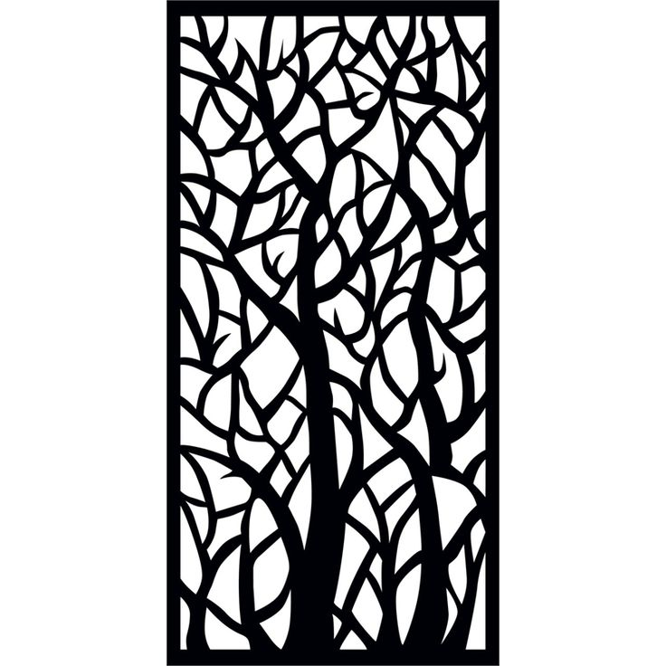 matrix 1800 x 900 x 7mm charcoalwoodland dcor screen panel in 3041107 bunnings decorative - Decorative Screens