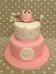 owl cake 1st birthday - Buscar con Google